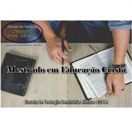Curso Livre de Mestrado em Educação Cristã com Diplomação e Credencial Grátis