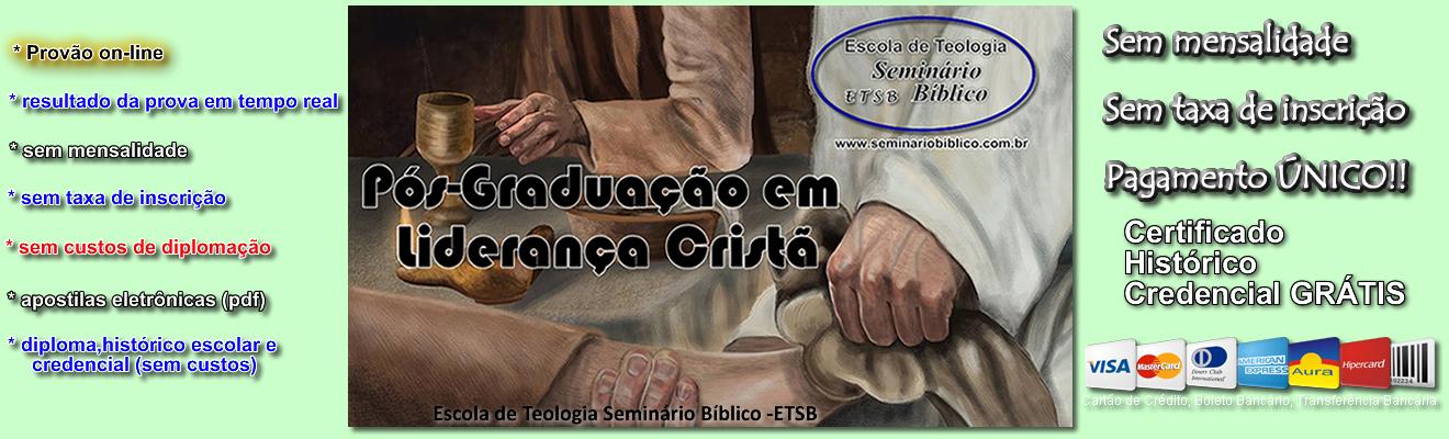 Curso Livre de Pós Graduação em Liderança Cristã
