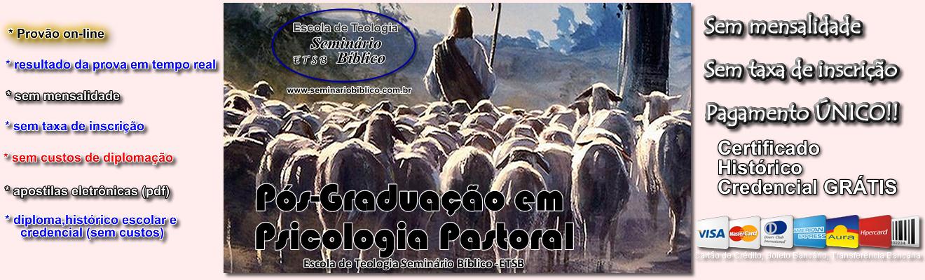Curso de Pós Graduação em Psicologia Pastoral