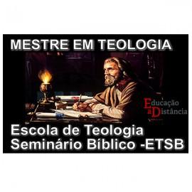 Mestre em Teologia Livre e Diplomação