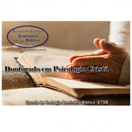 Curso livre de Doutorado em Psicologia Cristã com Diplomação e Credencial Grátis