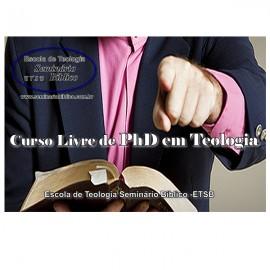 Curso Livre de PhD em Teologia com Diplomação e Credencial Grátis