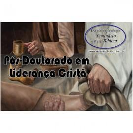 Curso Livre Pós-Doutorado em Liderança Cristã com Diplomação e Credencial Grátis